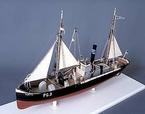 Fischdampfer Modell