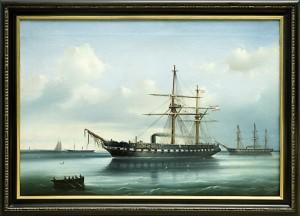 Gemälde Schiff Schwarzenfels