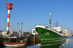 Museumsschiff GERA im Fischereihafen