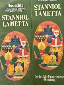 Lametta Verpackung