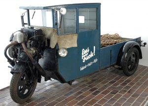 Dreirad-Kleinlastwagen