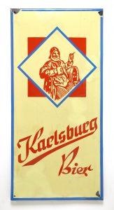 Schild Karlsburg-Bier