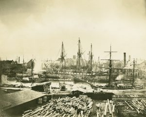 Wencke-Werft Docks