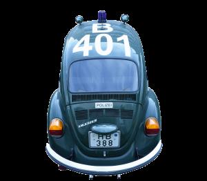 VW Käfer Polizei