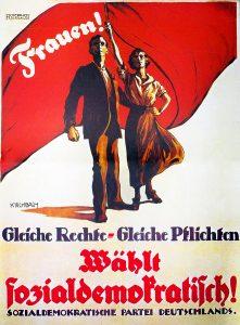 Wahlplakat SPD 1919