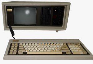 PC compaq portable