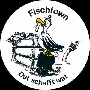 Aufkleber Fischtown