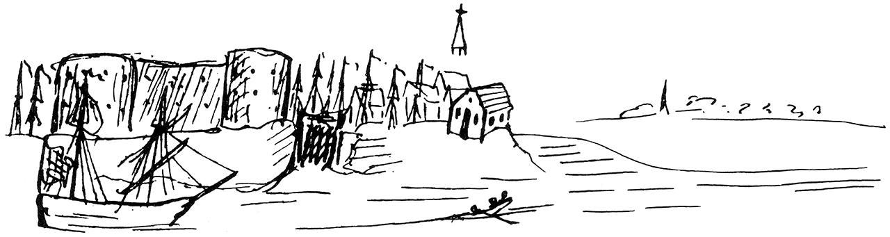 Engels_Zeichnung_Bremerhaven