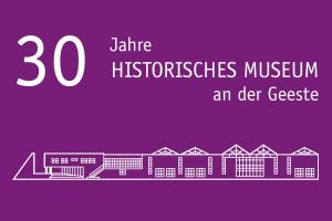 Logo 30 Jahre Historisches Museum
